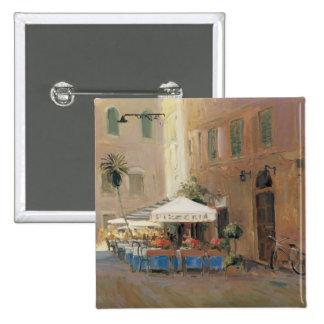 Café Roma Pinback Button