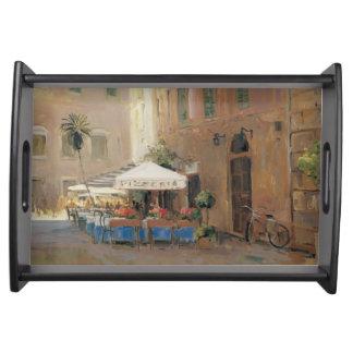 Café Roma Serving Tray