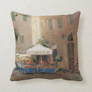 Café Roma Throw Pillow
