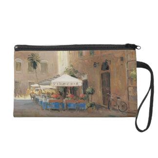 Café Roma Wristlet