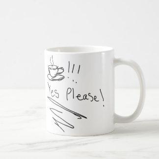 Café: ¡Satisfaga sí! Taza De Café