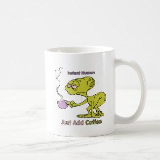 Café: Ser humano inmediato Taza Clásica