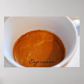 Cafe Series - Espresso Poster