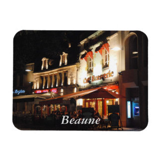 Cafe Society, Beaune, Burgundy Magnet