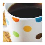 Café sólo 3 lona envuelta para galerías