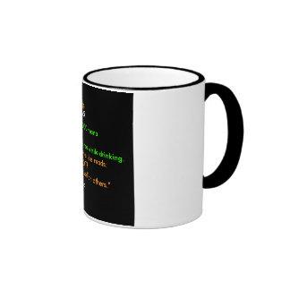 Café sólo taza de café