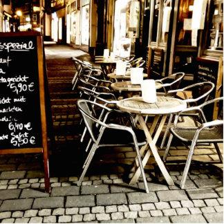 cafe statuette