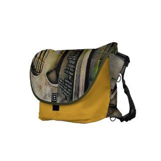 Cafe Stools Messenger Bag