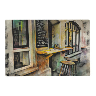 Cafe Stools Placemat