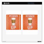 ¡Café - su superpoder! Kindle Fire Skins