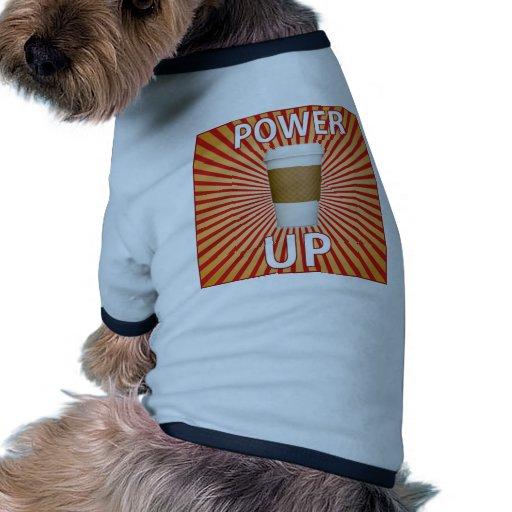¡Café - su superpoder! Prenda Mascota