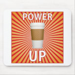 ¡Café - su superpoder! Tapete De Raton