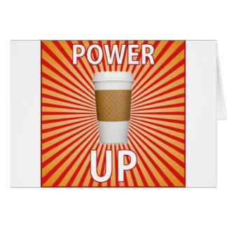 ¡Café - su superpoder! Tarjeta De Felicitación