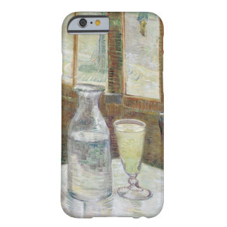 Café table with absinth barely there iPhone 6 case
