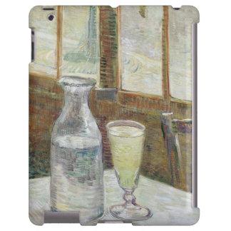 Café table with absinth