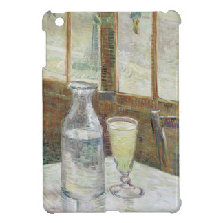 Café table with absinth case for the iPad mini