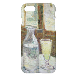 Café table with absinth iPhone 7 case