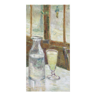Cafe Table with Absinthe by Vincent Van Gogh Card