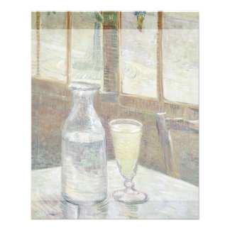 Cafe Table with Absinthe by Vincent Van Gogh Flyer