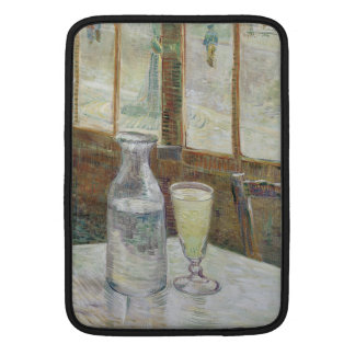 Cafe Table with Absinthe by Vincent Van Gogh Sleeve For MacBook Air