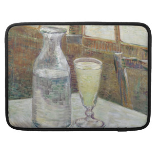 Cafe Table with Absinthe by Vincent Van Gogh Sleeves For MacBook Pro