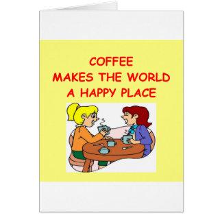 café felicitación