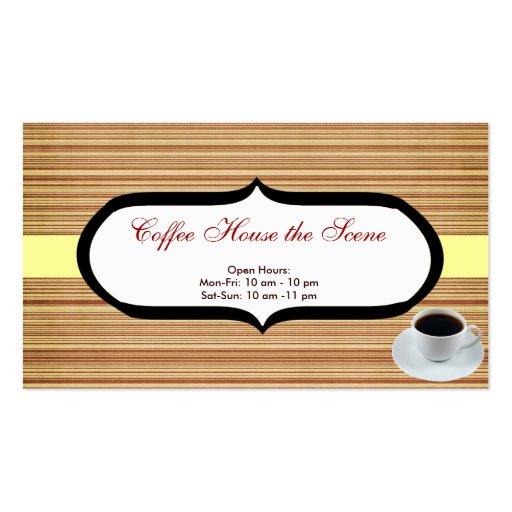 Café Tarjeta De Visita