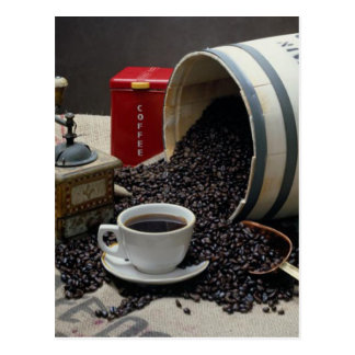 Café Tarjeta Postal