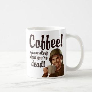 ¡Café! Taza Clásica