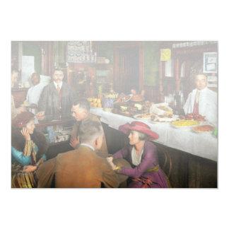 Cafe - Temptations 1915 Card