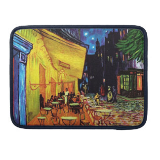Cafe Terrace at Night (1888) MacBook Pro Sleeve 13