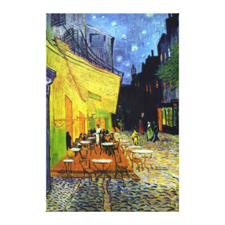Café Terrace at Night by Van Gogh Fine Art Canvas Print