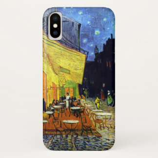 Cafe Terrace at Night by Van Gogh iPhone X Case