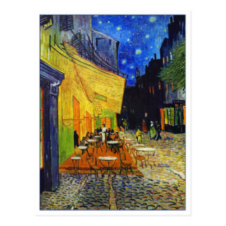 Cafe Terrace at Night by Van Gogh Postcard