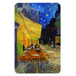 Cafe Terrace at Night by Van Gogh Rectangular Photo Magnet