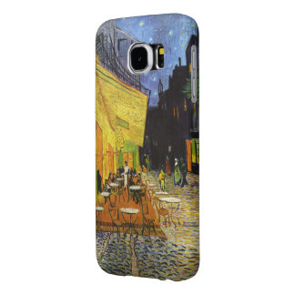 Cafe Terrace at Night by van Gogh Samsung Galaxy S6 Cases