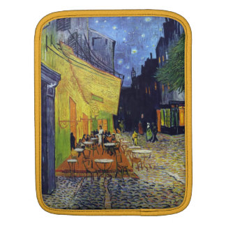 Cafe Terrace at Night by Vincent van Gogh 1888 iPad Sleeve