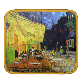 Cafe Terrace at Night by Vincent van Gogh 1888 iPad Sleeves