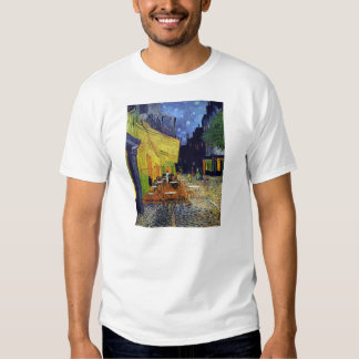 Cafe Terrace at Night by Vincent van Gogh 1888 Shirt
