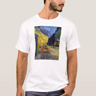Cafe Terrace at Night by Vincent van Gogh 1888 T-Shirt