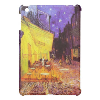 Cafe Terrace at Night by Vincent van Gogh iPad Cover For The iPad Mini