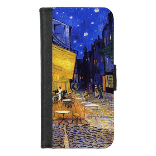 Cafe Terrace at Night by Vincent van Gogh Phone Case