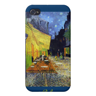 Cafe Terrace at Night, CafeTerrace iPhone 4 Case