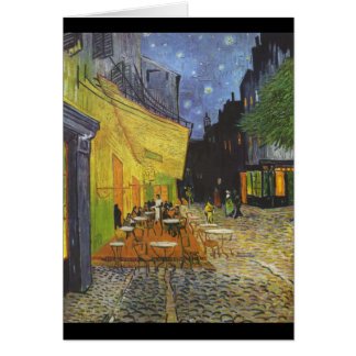 Cafe Terrace at Night Card