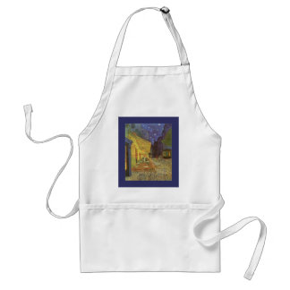 Cafe' Terrace At Night Van Gogh coffeehouse Gifts Apron