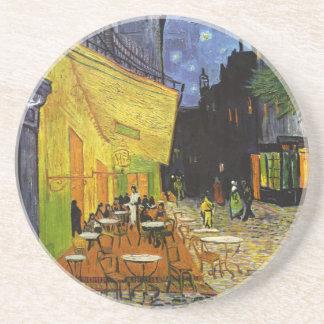Cafe Terrace at Night Van Gogh Drink Coaster