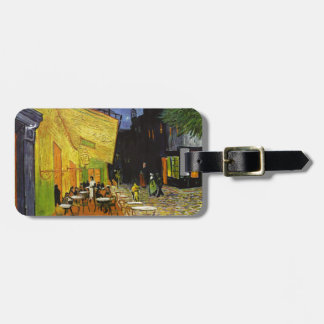 Cafe Terrace at Night Van Gogh Luggage Tag