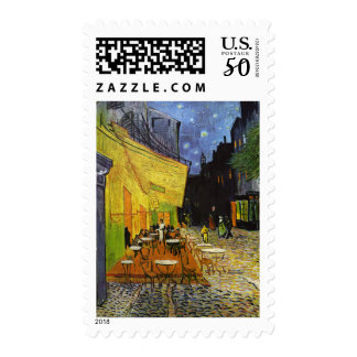 Cafe Terrace at Night Van Gogh Postage