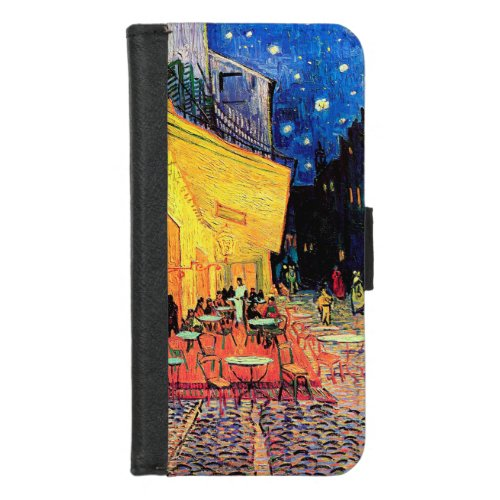 Cafe Terrace at Night, Vincent van Gogh, 1888 Phone Case