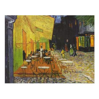 Cafe Terrace at Night - Vincent Van Gogh Postcards